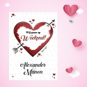 Valentijn kraskaart