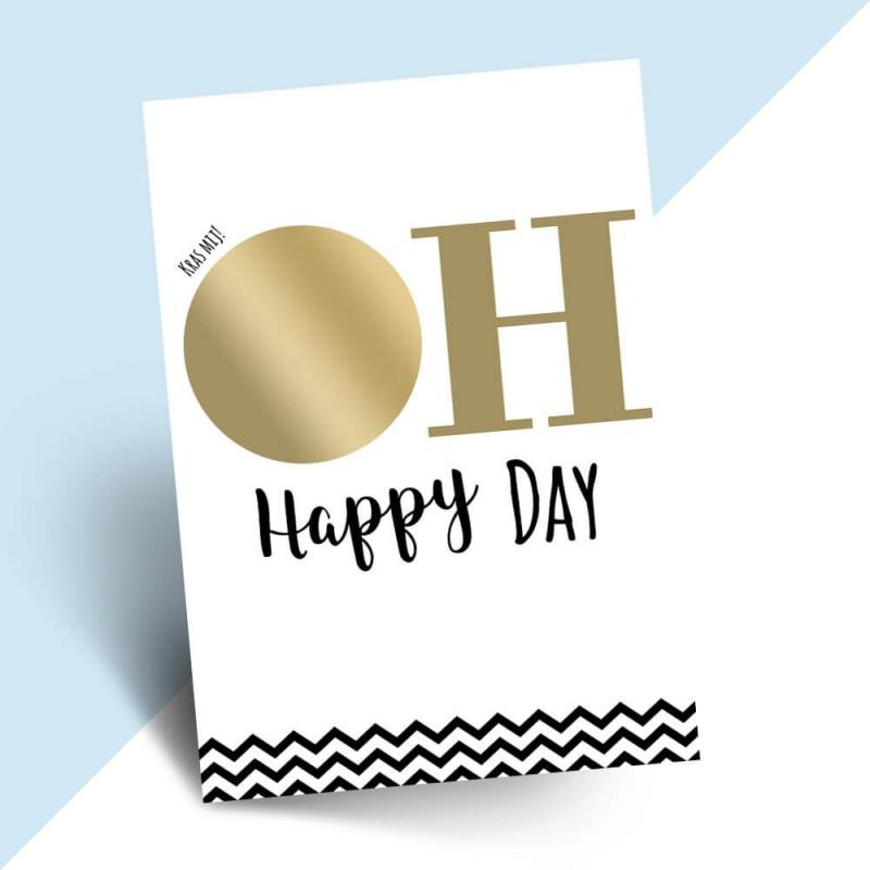 """Kraskaart getuige vragen """"oh happy day"""""""