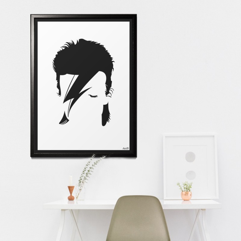 """Poster """"David Bowie"""""""