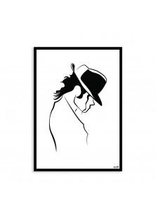 "Poster ""Michael Jackson"""