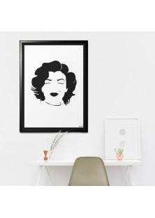 "Poster ""Marilyn Monroe"""