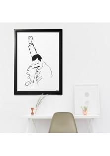 """Poster """"Freddie Mercury"""""""