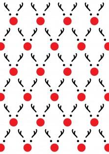 "Kerstkaart ""Rudolph"""