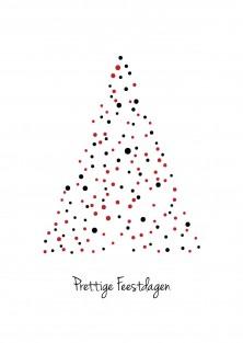"""Kerstkaart """"Kerstboombollen"""""""