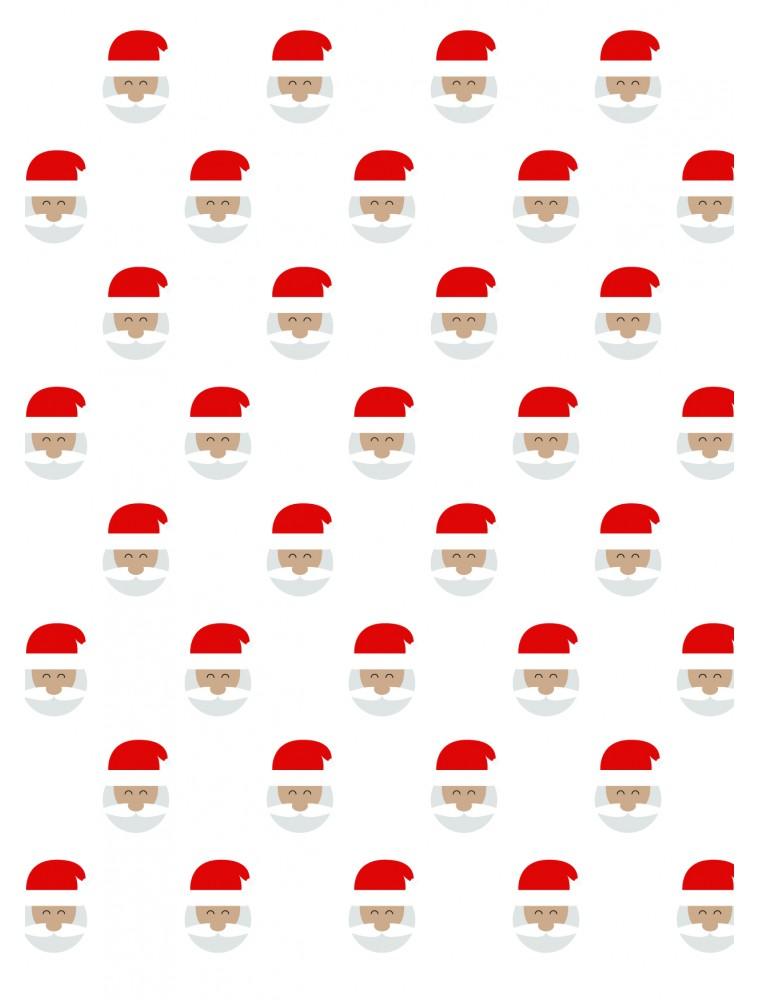 """Kerstkaart """"Santa"""""""