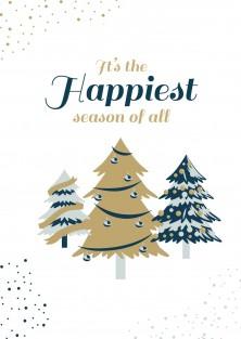 Kerstkaart happiest season