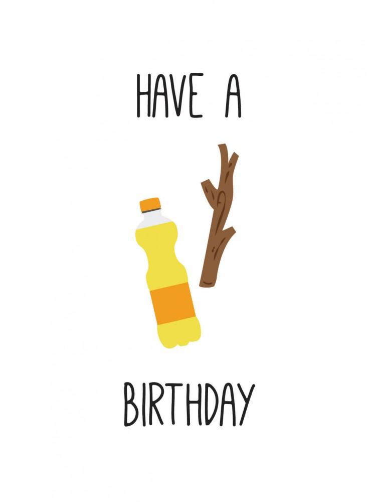 """Verjaardagskaart """"Fantastic"""""""