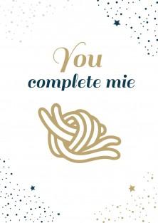 Verjaardagskaart you complete mie