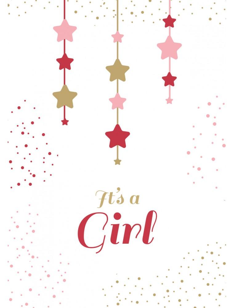 Geboortekaartje It's a girl