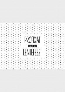 """Wenskaart """"Lentefeest Bollen"""""""
