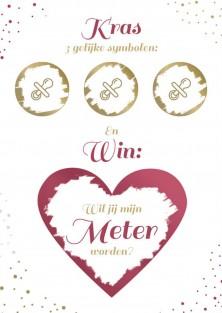 Win meter worden kraskaart