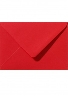 "Luxe rode envelop ""Lovely Red"""