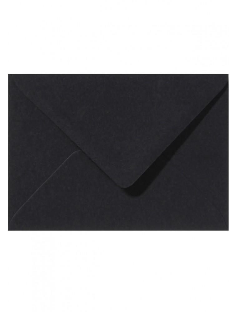 """Zwarte envelop """"Pure Black"""""""