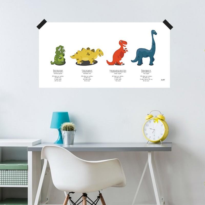 "Poster ""Dinos"""