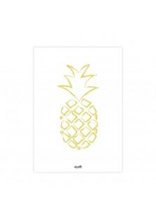 "Poster ""Ananas"""