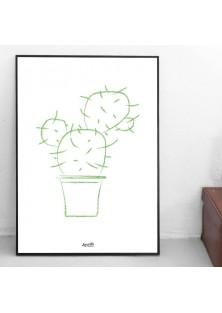 """Poster """"Cactus"""""""