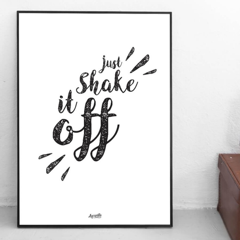 "Poster ""Shake It Off"""