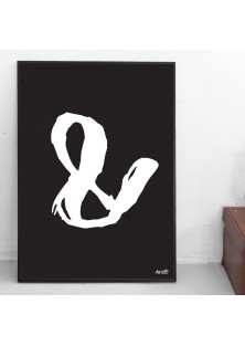 "Poster ""Ampersand"""