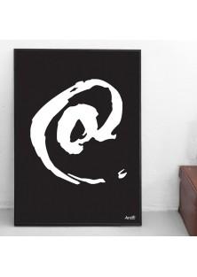 """Poster """"Apenstaartje"""""""