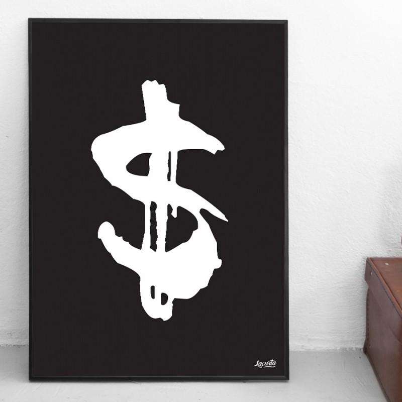 "Poster ""Dollarsign"""