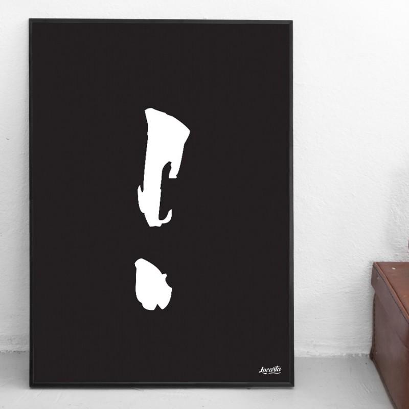 """Poster """"Uitroepteken"""""""