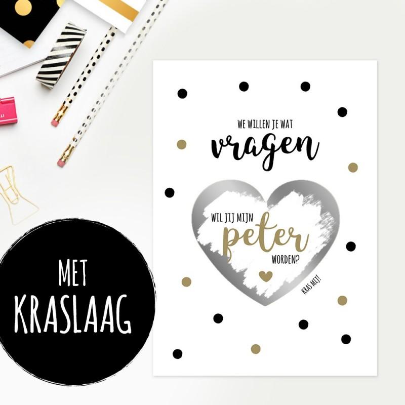 """Kraskaart """"Peter Worden"""""""