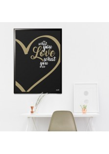 "Poster ""Do What You Love"""