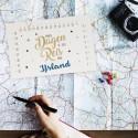 Onze reis aftelkalender
